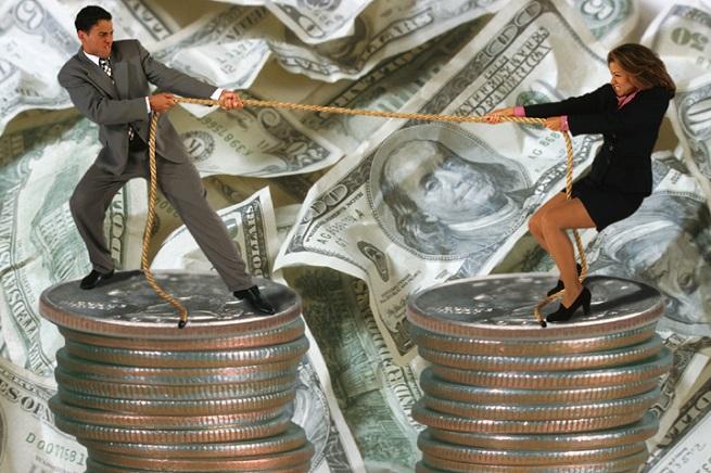 Развод из-за денег