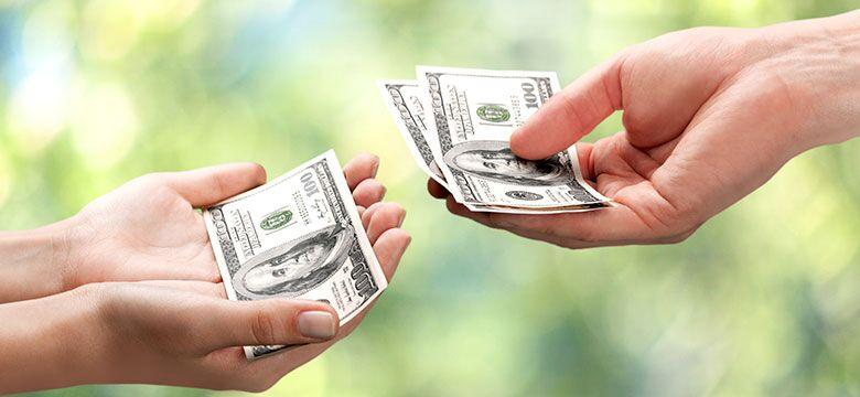 Деление денег