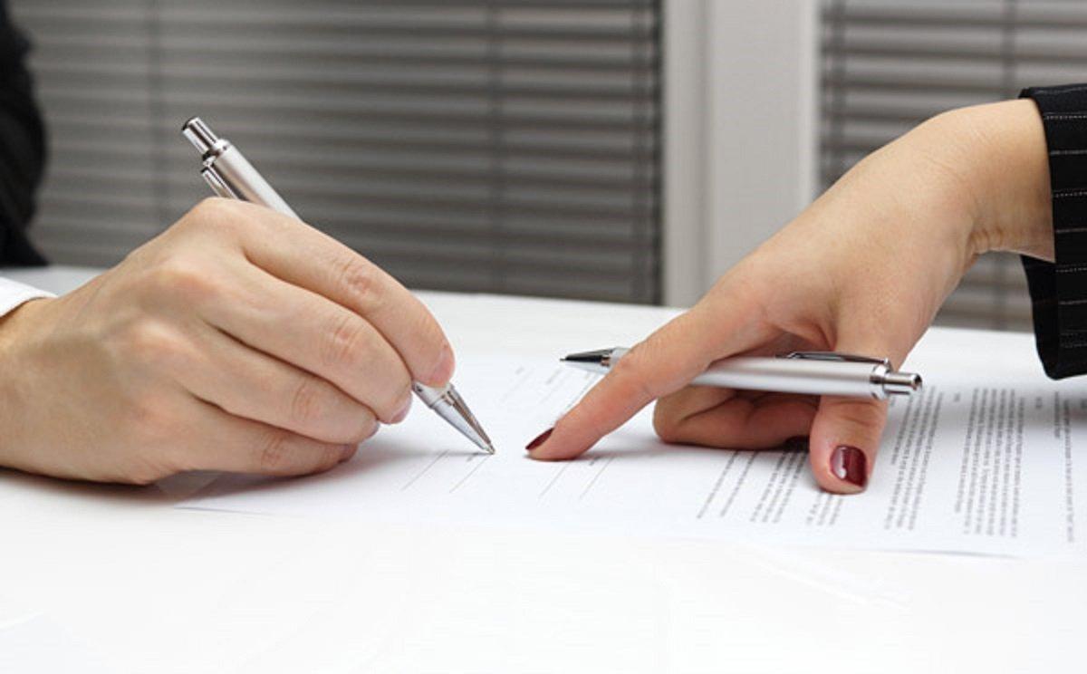 Указание пальцем где писать