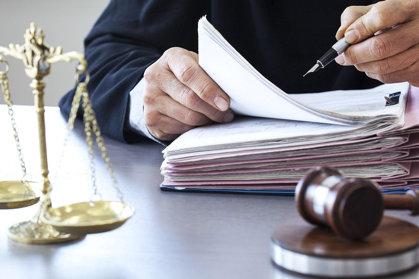 Судья за работой