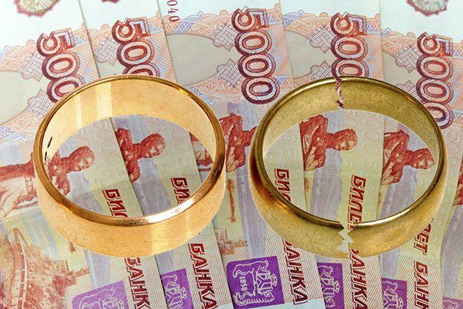 Кольца на деньгах