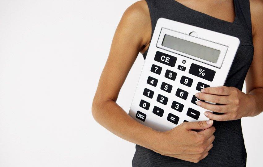 Дама с калькулятором