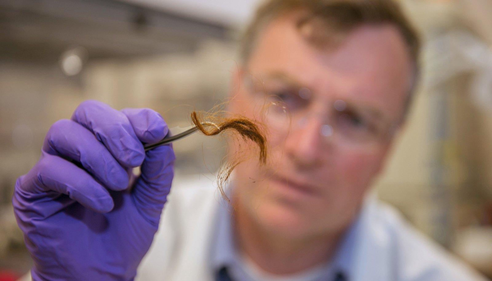 Исследование волоса