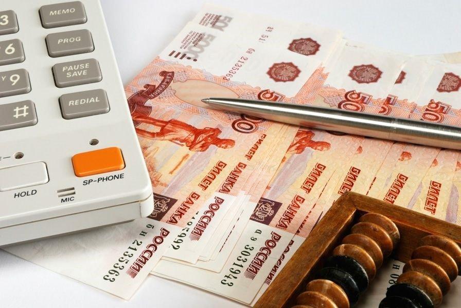 Деньги у калькулятора