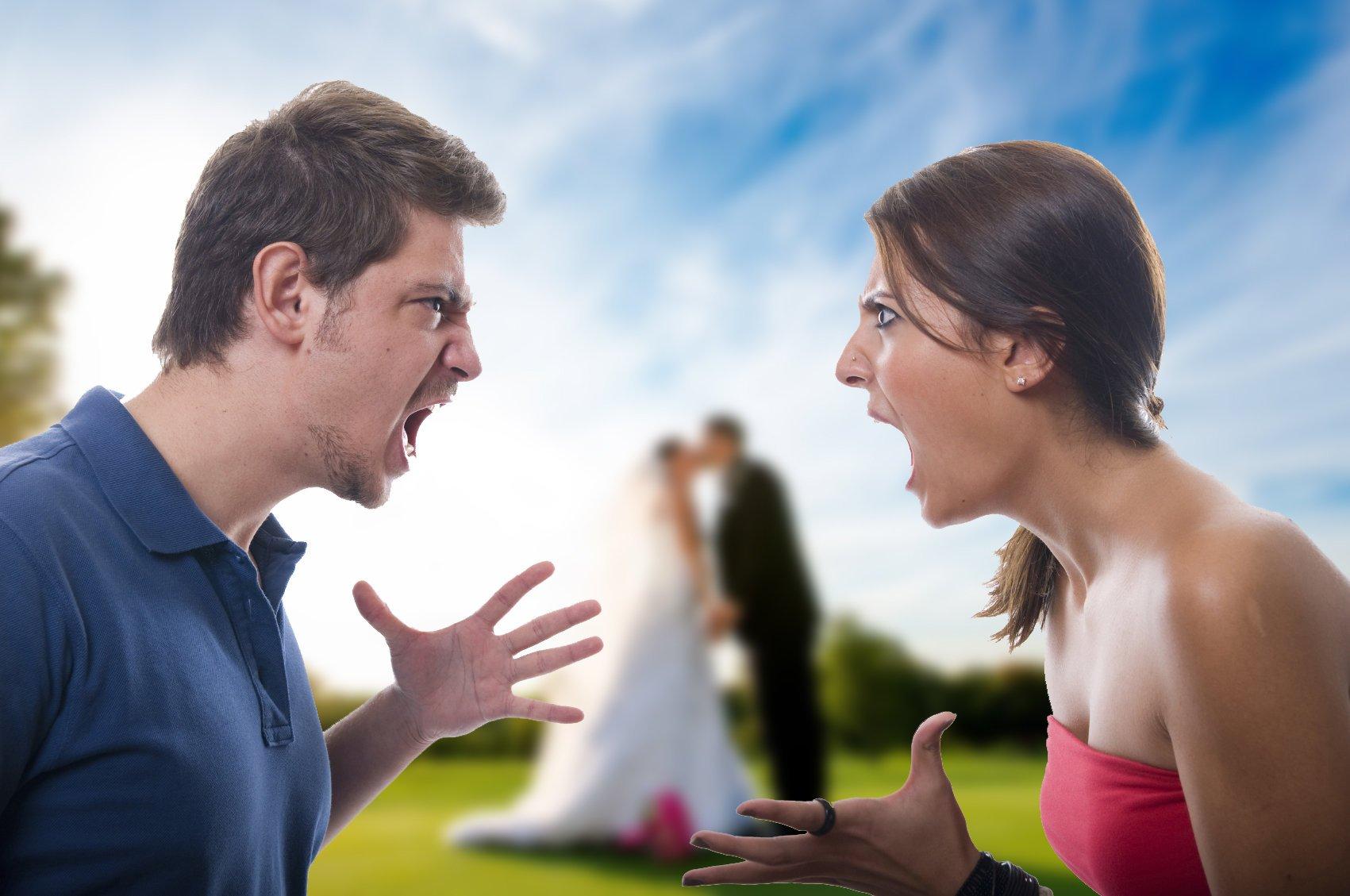 Кричащие супруги