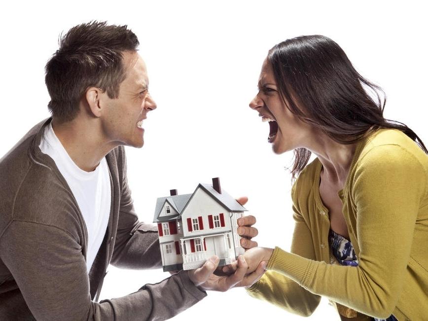 Ссора из-за дома